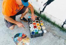 Taller de pintura mural y arte urbano