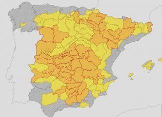 Alerta Naranja por temperaturas de hasta 41ºC en las Vegas Bajas del Guadiana
