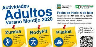 inscripción a las actividades para adultos del Ayuntamiento de Montijo
