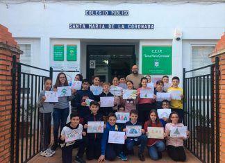 """El CEIP Santa María Coronada participan en el proyecto eTwinning """"The power of Democracy at School""""s"""