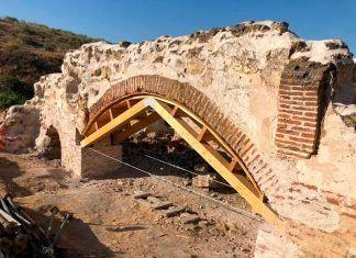 Consolidación de la cúpula y el arco del Convento Franciscano en Lobón con fondos EDUSI