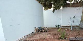 nichos en el cementerio de Guadiana
