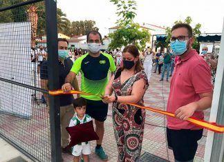 Fotos: Inauguración pistas de pádel en Barbaño