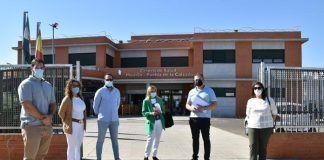 Declaraciones Elena Nevado y Julio Pámpano sobre el Centro de Salud de Montijo-Puebla de la Calzada