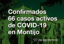Montijo suma 66 casos activos de Covid-19 tras 16 nuevos positivos y 5 altas