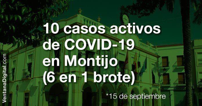 Manuel Gómez confirma 10 casos activos de Covid-19 en Montijo