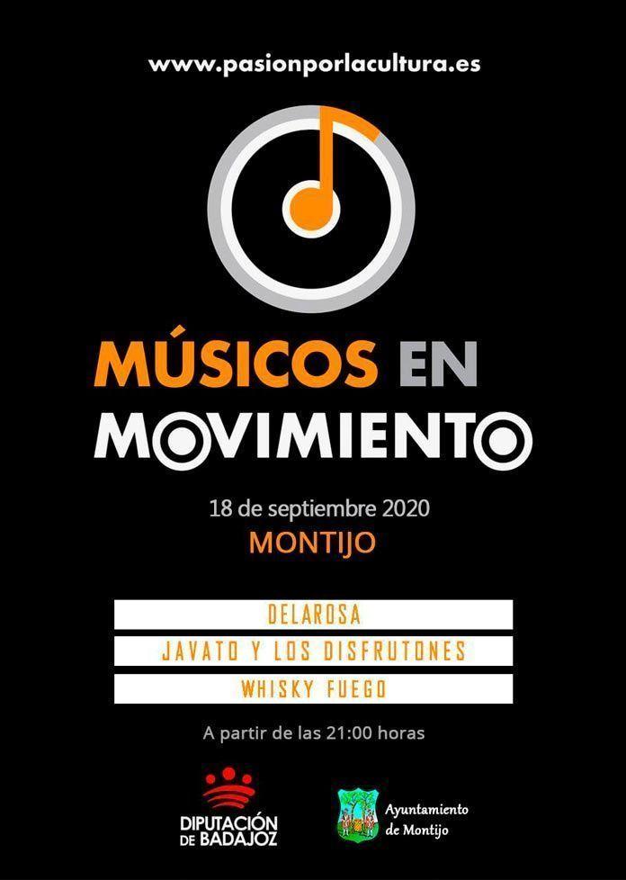 """""""Músicos en Movimiento"""" en el Teatro Nuevo Calderón de Montijo"""