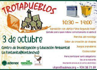 ADENEX celebra en Montánchez Trotapueblos de 2020