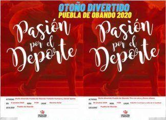 Un otoño deportivo en Puebla de Obando
