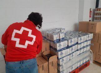 Cruz Roja distribuirá más de 8.000 kilos de alimentos entre personas vulnerables de la comarca de las Vegas Bajas