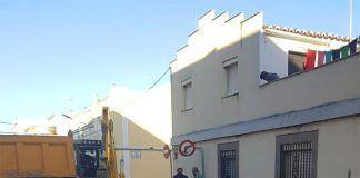 La rotura de una tubería general provoca cortes del suministro de agua en Montijo
