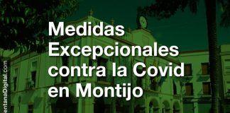 Medidas excepcionales en Montijo para contener el incremento de casos positivos de Covid-19
