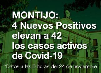 Covid-19 en Montijo: 4 nuevos positivos