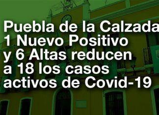 Covid-19 en Puebla de la Calzada