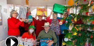 Navidad en la Residencia de Mayores Virgen de Barbaño de Montijo