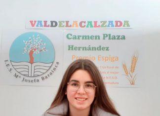 Una alumna del instituto de Valdelacalzada mejor expediente de la ESO