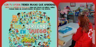"""La campaña """"Sus derechos en juego"""" de Cruz Roja Vegas Bajas recauda más de 600 juguetes"""