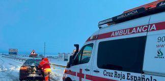 Más de 80 voluntarios de Cruz Roja frente a Filomena