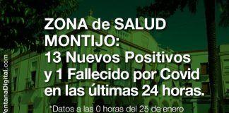 13 Nuevos Positivos y 1 fallecido por Covid en las últimas 24 horas en la Zona de Salud de Montijo