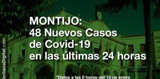 48 nuevos casos positivos de Covid-19 en las últimas 24 horas en Montijo