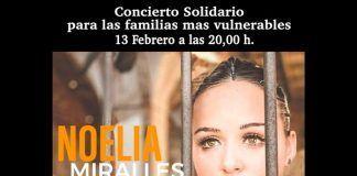 Concierto solidario de Noelia Millares para las familias más vulnerables