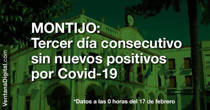 Tercer día consecutivo sin nuevos positivos por Covid en Montijo