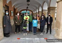 """«Dona médula, dona vida"""", ADMO y el Ayuntamiento de Montijo colaboran en una campaña de donación de médula ósea"""