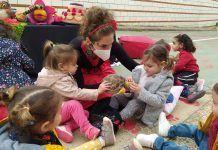 Día de Extremadura en el Centro Infantil Alborada de Montijo