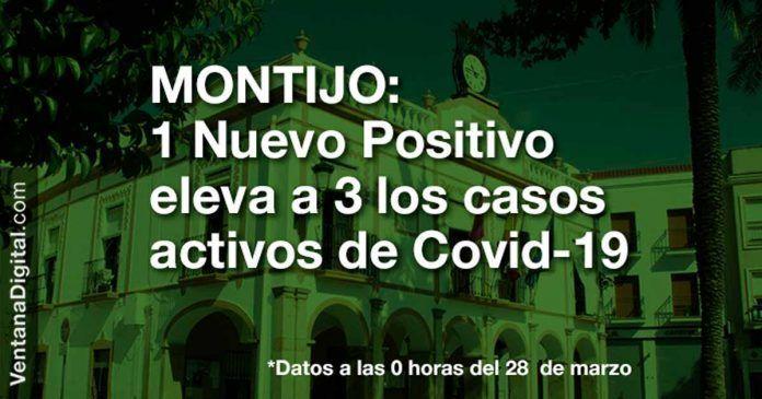 3 casos activos de Covid-19 en Montijo