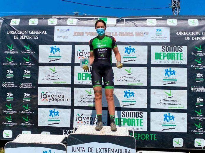 Tamara Sánchez se imponen en la maratón BTT de Quintana de la Serena