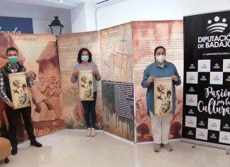 """Exposición """"El rincón de Cervantes""""en la Casa de la Cultura de Puebla de la Calzada con motivo del día del libro"""