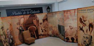 """EXPOSICIÓN: """"Cervantes eterno. Entre el delirio y la razón"""" dentro de la programación del Día de Libro en Puebla de la Calzada"""