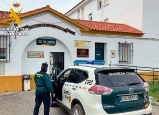 Cuartel de la Guardia Civil en Montijo (foto: Guardia Civil)