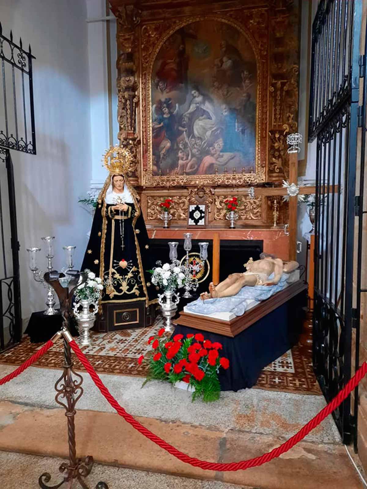 Hermandad del Santo Entierro y Nuestra Señora de los Dolores, Montijo.