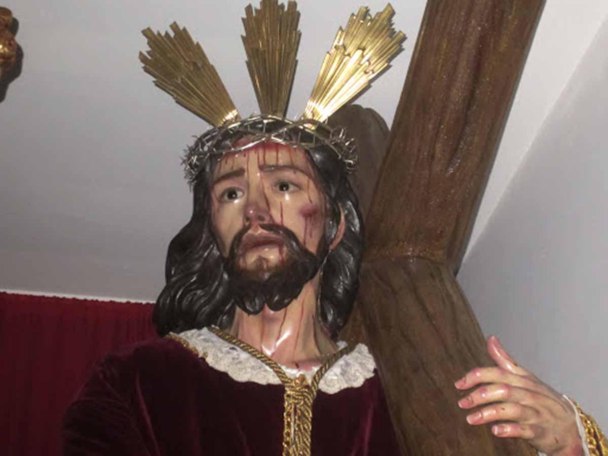Jesús Nazareno. Siglo XVIII. Anónimo. Montijo. Pablo Iglesias Aunión