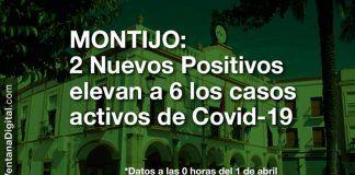 6 casos de Covid en Montijo