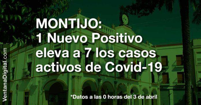 1 positivo eleva a 7 los casos activos de Covid-19 en Montijo