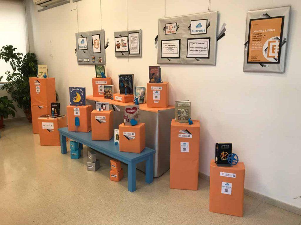 La biblioteca de Valdelacalzada celebra el Día Internacional del Libro con una exposición ReadMaker LAT