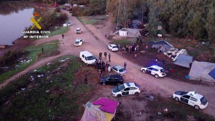 Guardia Civil detiene grupo criminal por robos en explotaciones agricolas y ganaderas de las Vegas Bajas